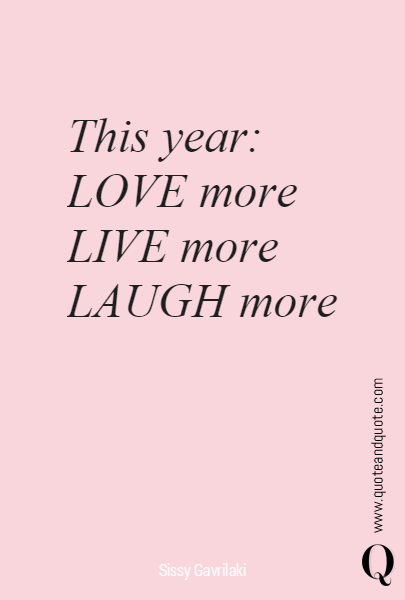 This year: