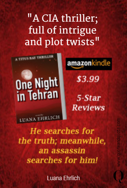"""A CIA thriller;