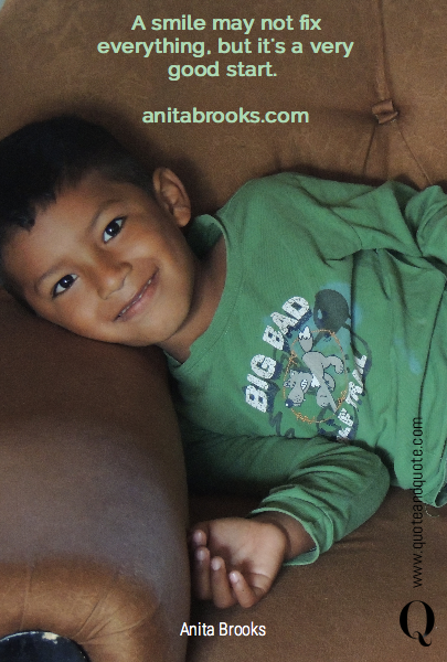 A smile may not fix everything, but it's a very good start. 