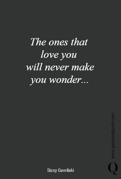 The ones that 