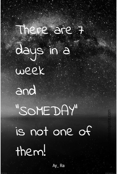 There are 7 days in a week