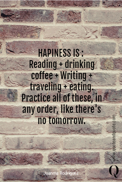 HAPINESS IS : 