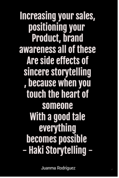 Increasing your sales, positioning your 