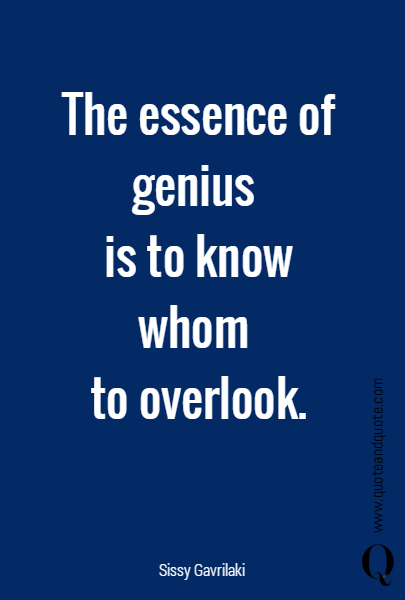 The essence of 
