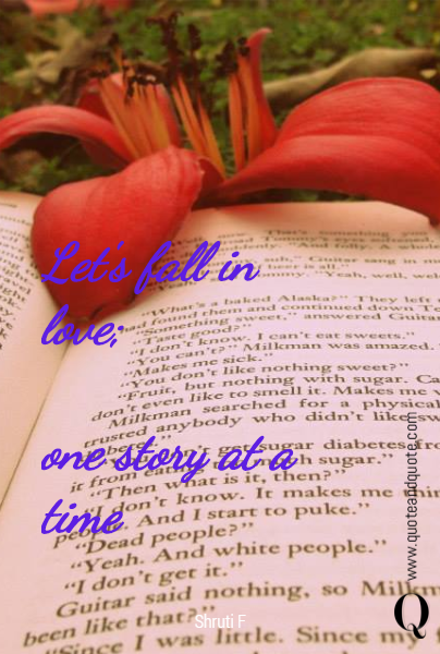 Let's fall in love; 