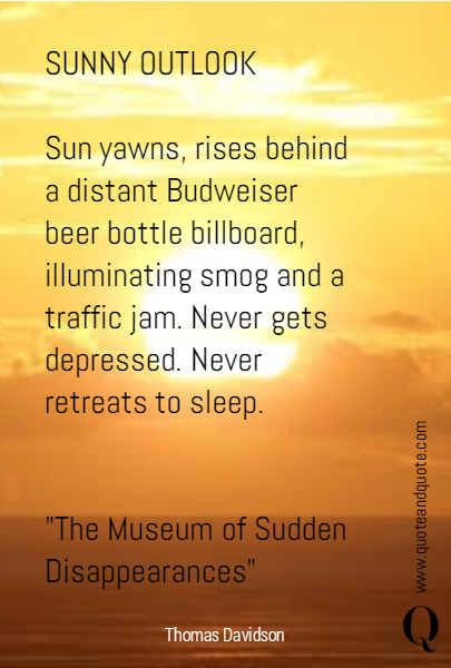 SUNNY OUTLOOK