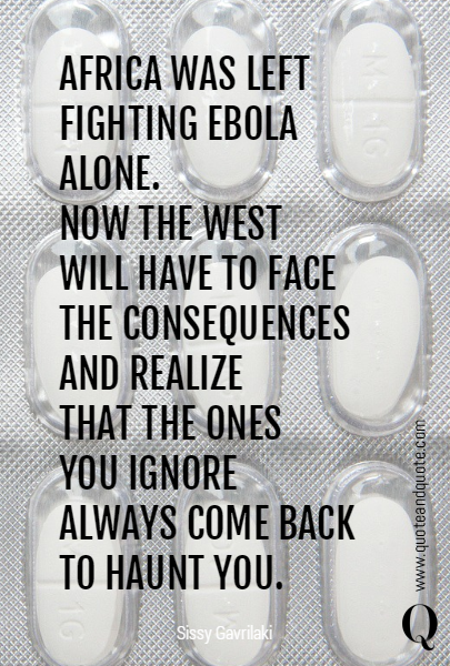 AFRICA WAS LEFT 