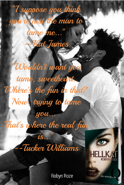 """I suppose you think you're just the man to tame me...""